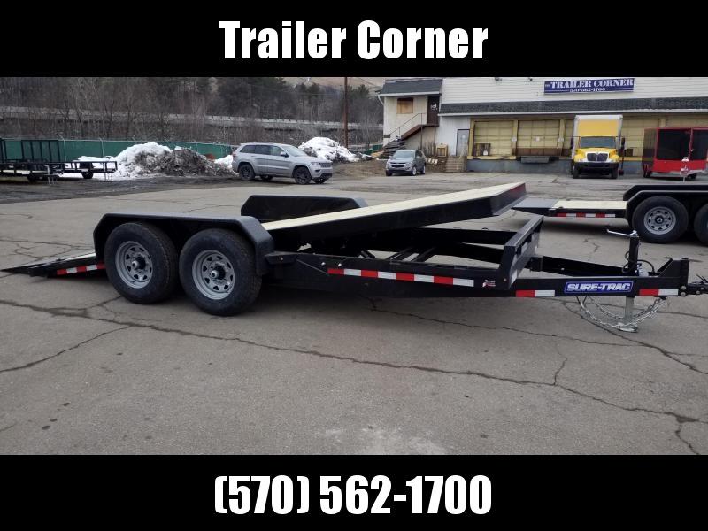2021 Sure-Trac 7X18 14K TILT Equipment Trailer