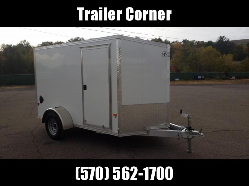 2021 Mission EZEC 6X10 ALUMINUM - RAMP Enclosed Cargo Trailer