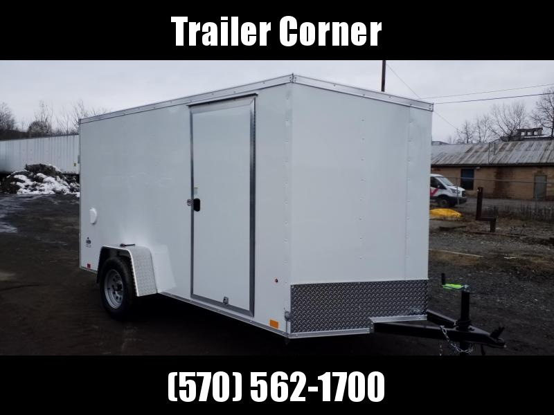 2022 Look Trailers STLC 6X12 - RAMP DOOR Enclosed Cargo Trailer