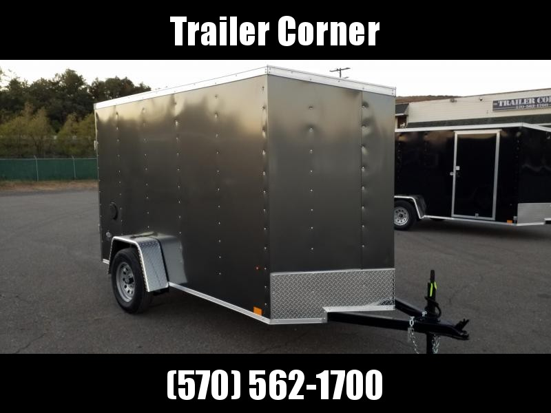 2021 Look Trailers STLC 5X10 RAMP DOOR - EXTRA HEIGHT Enclosed Cargo Trailer
