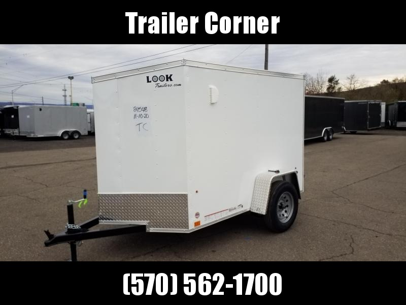 2022 Look Trailers STLC 5X8 BARN DOOR Enclosed Cargo Trailer