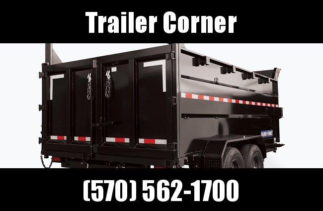 2021 Sure-Trac 82 IN x 14 HD Low Profile Dump Trailer w