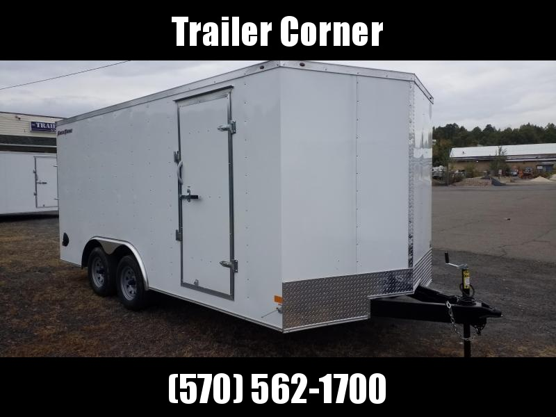 2021 Wells Cargo FT 8.5X16 7K Car / Racing Trailer