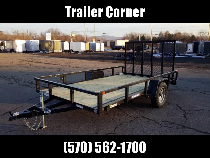 2021 Sure-Trac 7X12 TUBE TOP Utility Trailer