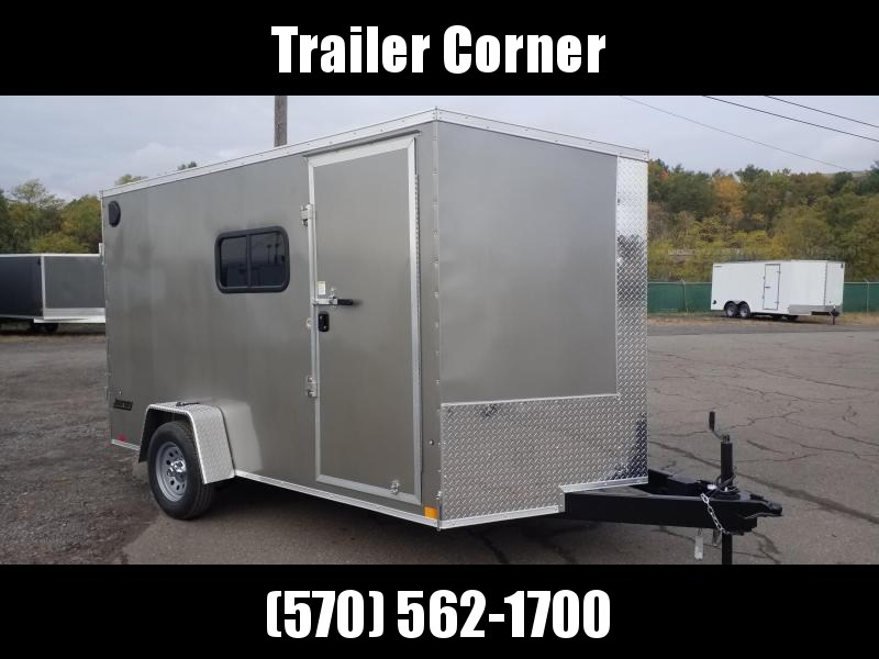 2021 Pace American JV 7X12 EXTRA HEIGHT - BARNS - WINDOWS Enclosed Cargo Trailer