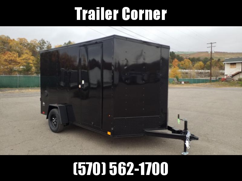 2021 Look Trailers STLC 7X12 - EXTRA HEIGHT - BLACKED OUT Enclosed Cargo Trailer