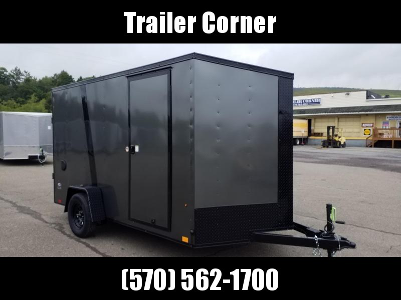 2021 Look Trailers STLC 7X12 EXTRA HEIGHT - BLACKED OUT Enclosed Cargo Trailer