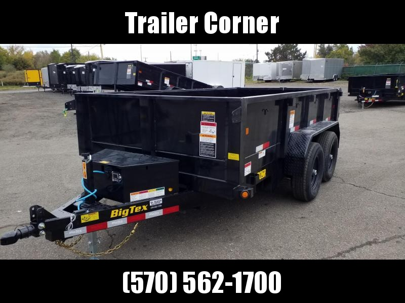 2021 Big Tex Trailers 90SR 6X12 10K - RAMPS Dump Trailer