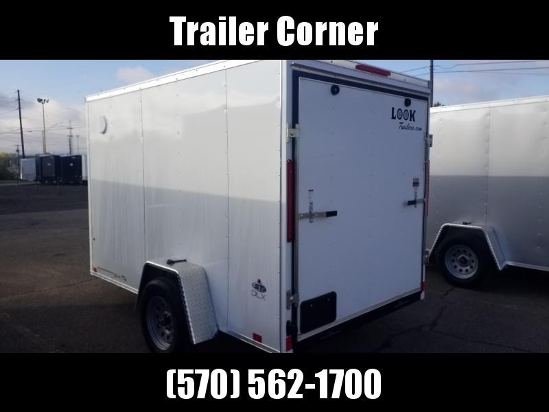 2021 Look Trailers STLC 6X10 RAMP DOOR Enclosed Cargo Trailer