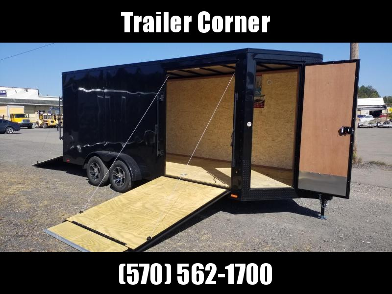 2021 Look Trailers VISION 7X18 7K CUSTOM Enclosed Cargo Trailer