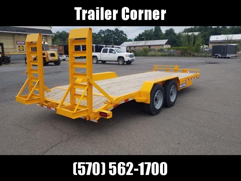 2020 Sure-Trac 7X20 16K KNEE RAMPS Equipment Trailer