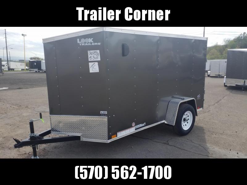 2022 Look Trailers STLC 5X10 - RAMP DOOR Enclosed Cargo Trailer