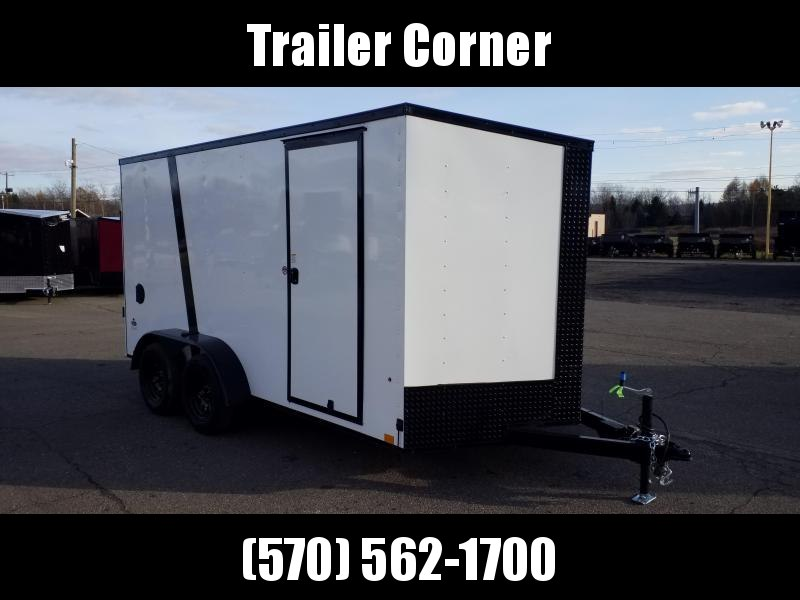 2022 Look Trailers STLC 7X14 - EXTRA HEIGHT - BLACKED OUT Enclosed Cargo Trailer