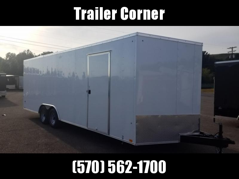 2022 Look Trailers ST 8.5X24 10K DLX - EXTRA HEIGHT Car / Racing Trailer