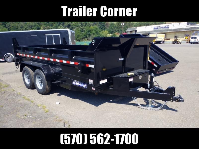 2021 Sure-Trac 7X14 14K SCISSOR - RAMPS - TARP Dump Trailer