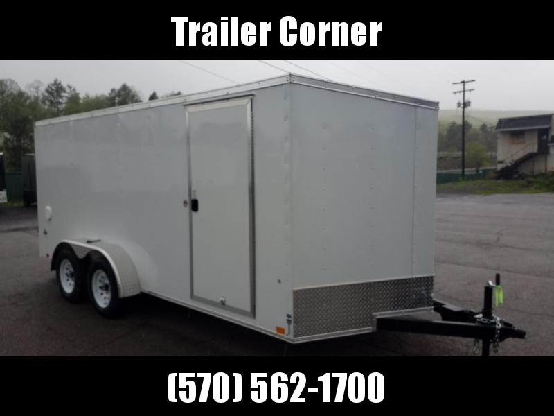 2022 Look Trailers STLC 7X16 - RAMP DOOR Enclosed Cargo Trailer