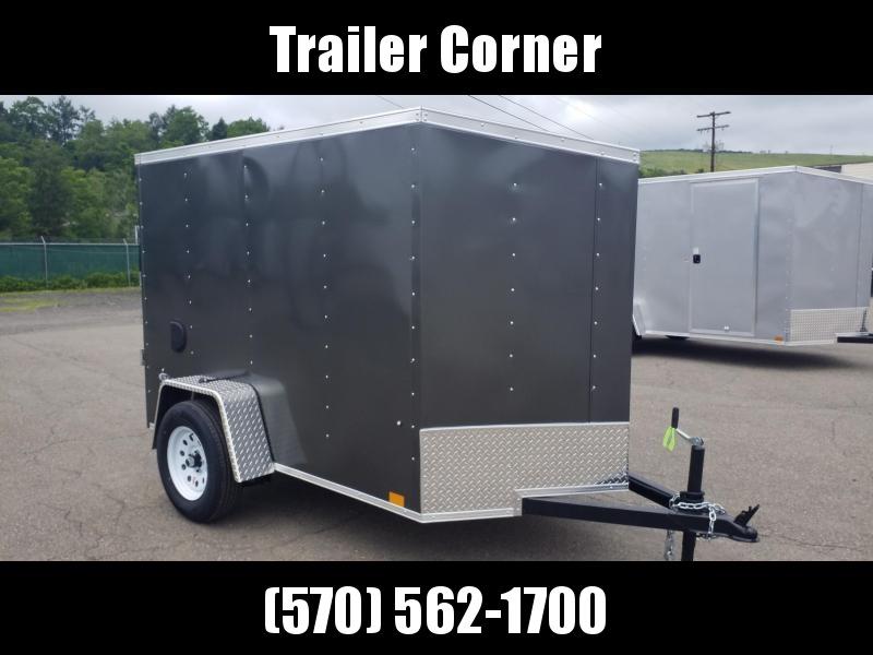 2022 Look Trailers STLC 5X8 - RAMP DOOR Enclosed Cargo Trailer