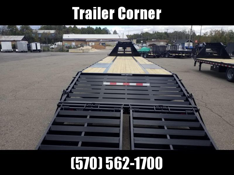 2021 Sure-Trac 30+5 22.5 GVWR - GOOSENECK Flatbed Trailer