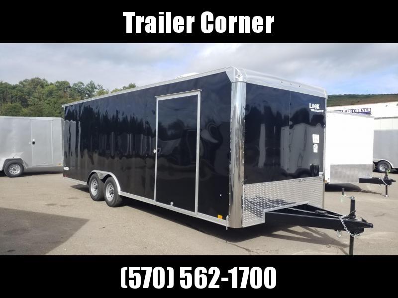 2022 Look Trailers ILRT 8.5X24 10K A/C UNIT Car / Racing Trailer