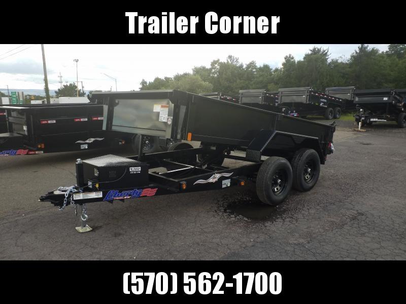 2021 Liberty 6X12 10K - RAMPS Dump Trailer
