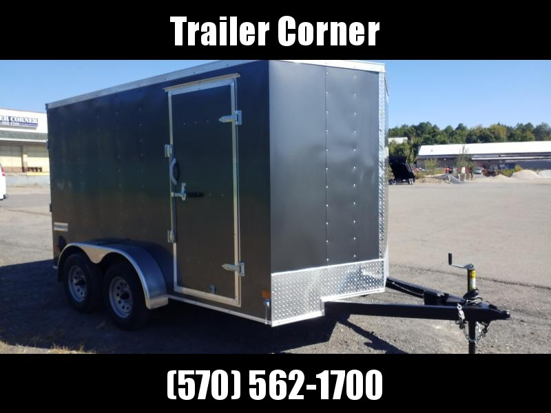 2021 Haulmark PPT 7X12 7K RAMP DOOR Enclosed Cargo Trailer