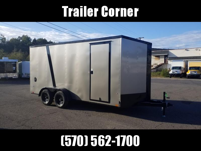 2022 Look Trailers STLC 7X16 - UTV HEIGHT - BLACKED OUT Enclosed Cargo Trailer