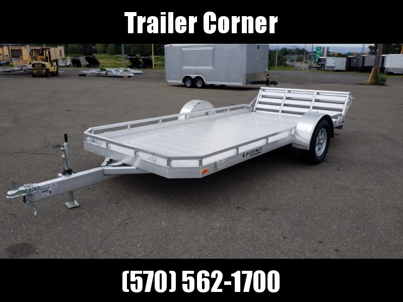 2021 Legend Trailers 7X14 ALUMINUM Utility Trailer