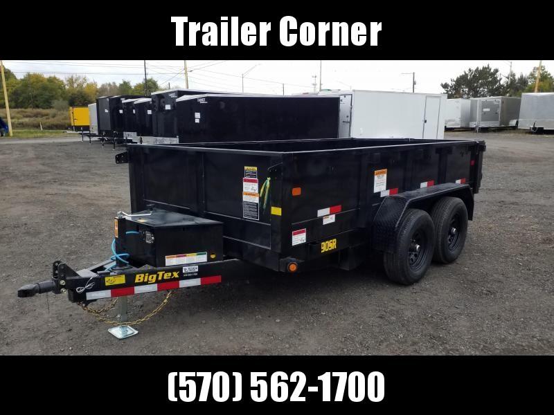 2021 Big Tex Trailers 90SR 6X12 10K RAMPS Dump Trailer
