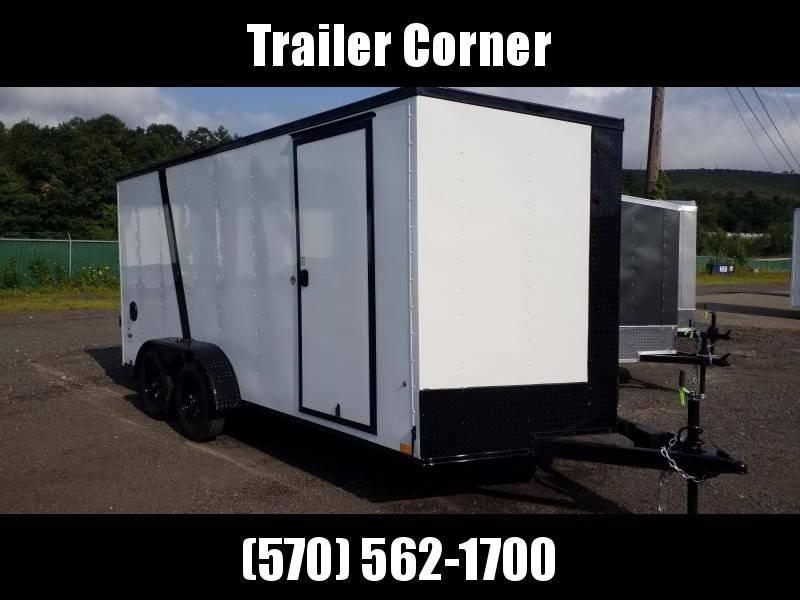 2022 Look Trailers STLC 7X16 - EXTRA HEIGHT - BLACKED OUT Enclosed Cargo Trailer