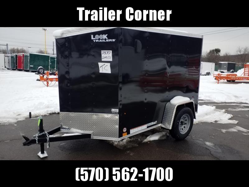 2022 Look Trailers STLC 5X8 - SINGLE BARN DOOR Enclosed Cargo Trailer