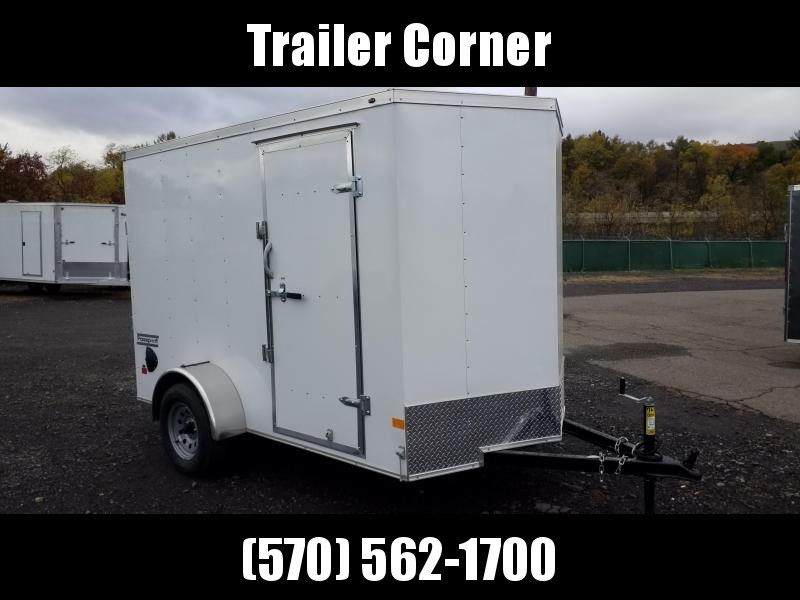 2021 Haulmark PPT 6X10 EXTRA HEIGHT - D RINGS - RAMP Enclosed Cargo Trailer