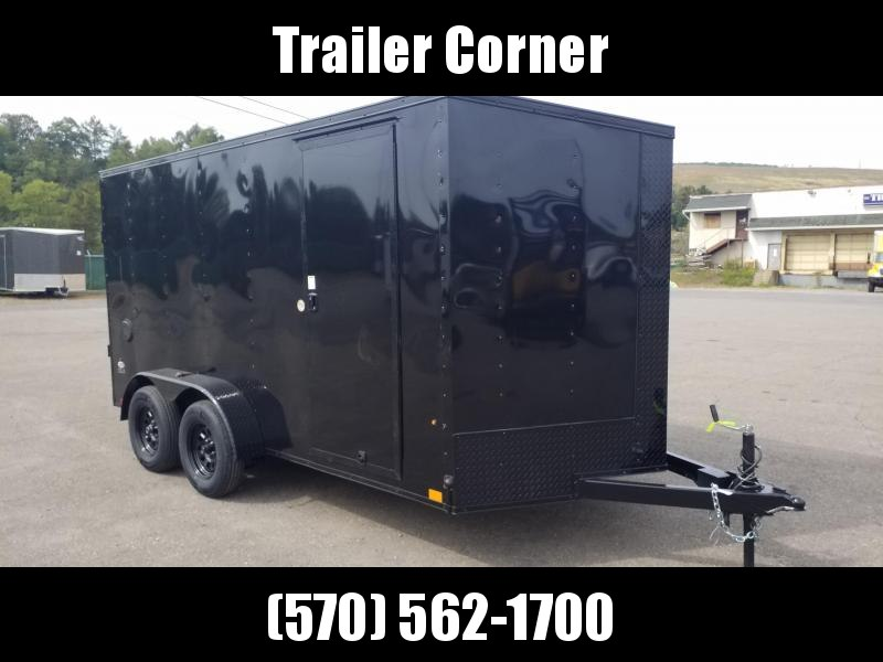 2021 Look Trailers STLC 7X14 EXTRA HEIGHT - BLACKED OUT Enclosed Cargo Trailer