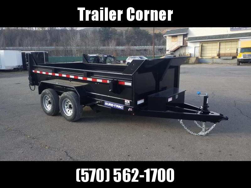 2021 Sure-Trac 6X12 10K - RAMPS Dump Trailer