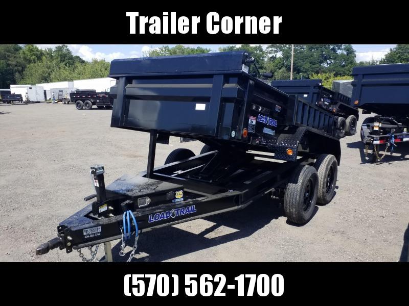 2022 Load Trail 5X10 - 7K SCISSOR - RAMPS - TARP KIT Dump Trailer