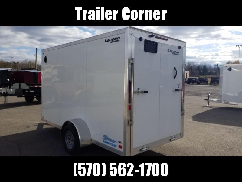 2021 Legend Trailers THUNDER 6X13 ALUMINUM Enclosed Cargo Trailer