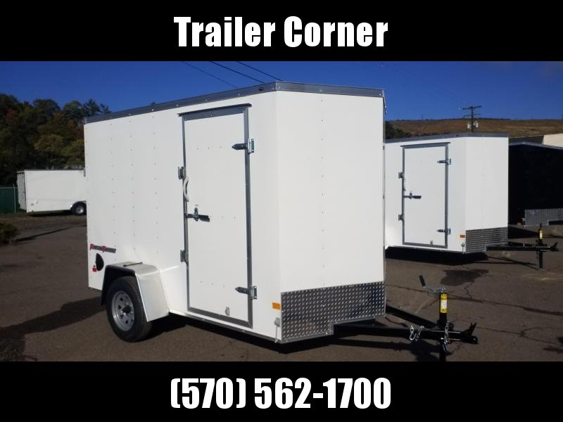 2021 Wells Cargo FT 6X10 EXTRA HEIGHT - D RINGS - RAMP Enclosed Cargo Trailer