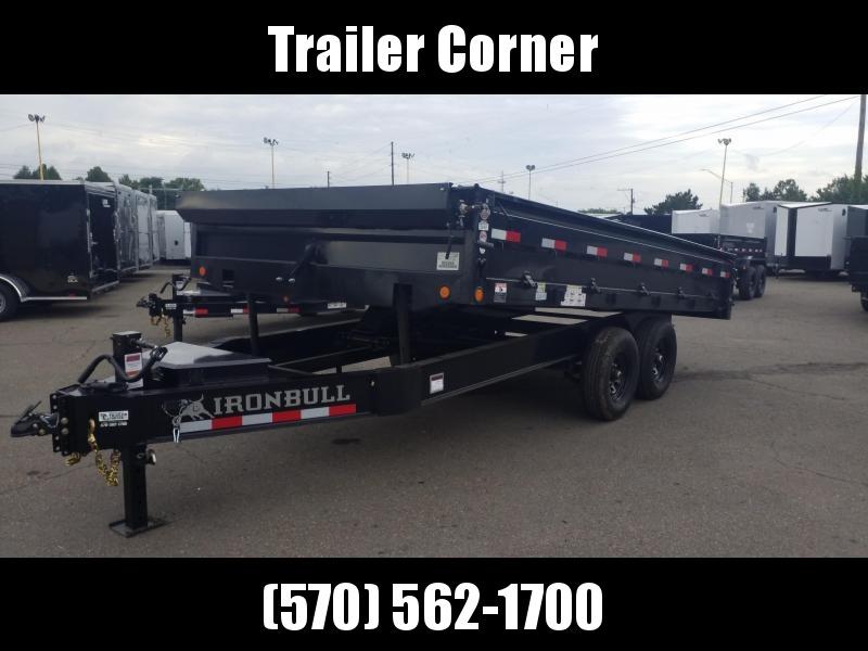 2022 Iron Bull 96X16 14K DECKOVER Dump Trailer