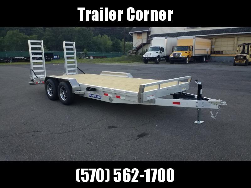 2021 Sure-Trac 7X18 ALUMINUM 10K Equipment Trailer