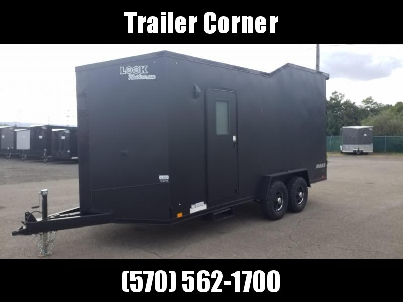 2021 Look Trailers MOAB 7X18 TOY HAULER Enclosed Cargo Trailer