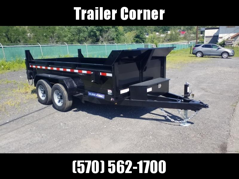 2021 Sure-Trac 6X12 10K - RAMPS Dump Trailer