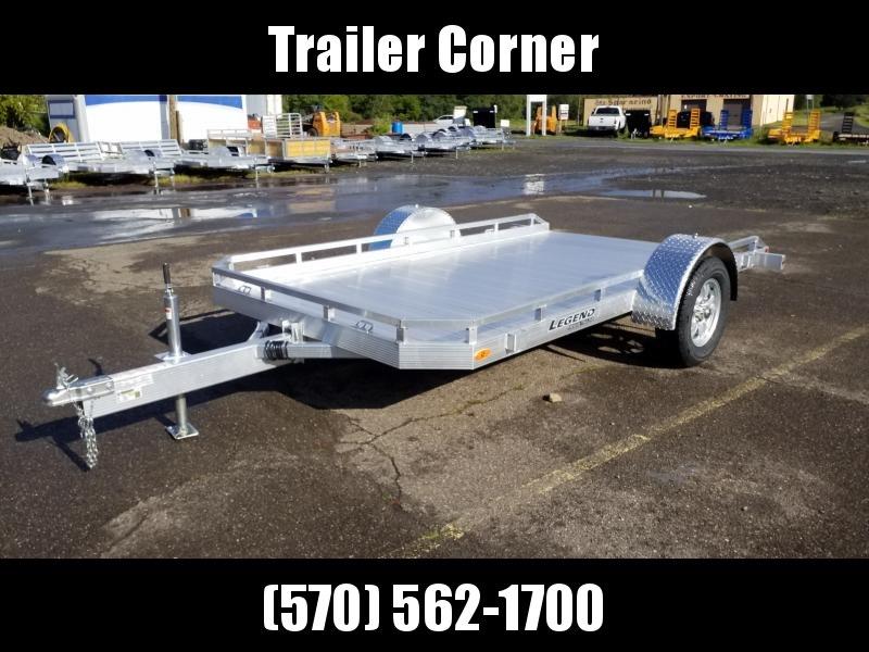 2021 Legend Trailers 7X12 ALUMINUM TILT Utility Trailer