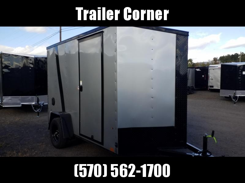 2021 Look Trailers STLC 6X10 - EXTRA HEIGHT - BLACKED OUT Enclosed Cargo Trailer