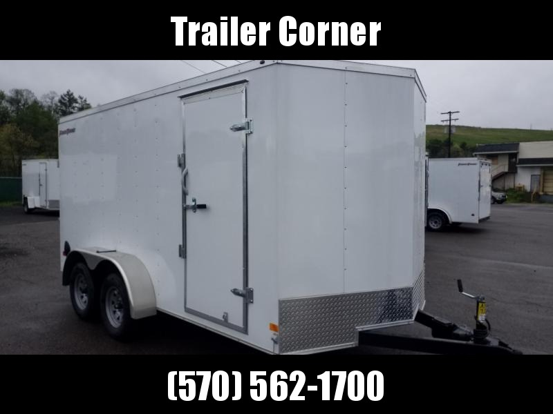 2021 Wells Cargo FT 7X14 - RAMP DOOR Enclosed Cargo Trailer