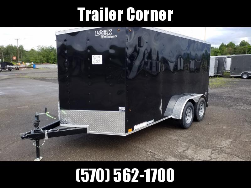 2021 Look Trailers STLC 7X14 RAMP DOOR Enclosed Cargo Trailer