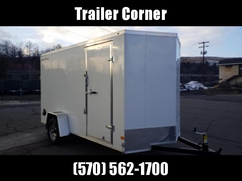 2021 Wells Cargo FT 6X12 - RAMP DOOR Enclosed Cargo Trailer