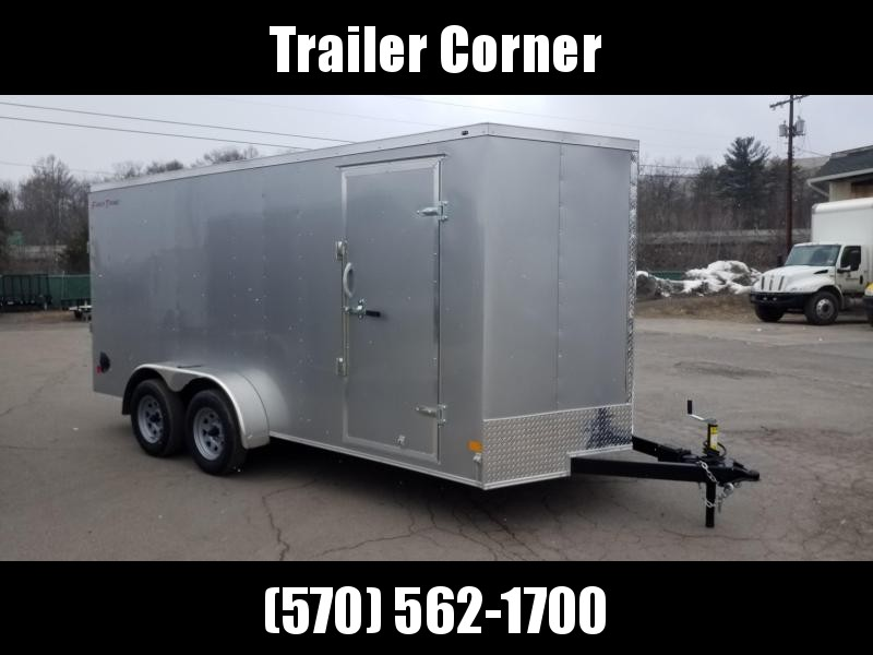 2021 Wells Cargo FT 7X16 - RAMP DOOR Enclosed Cargo Trailer