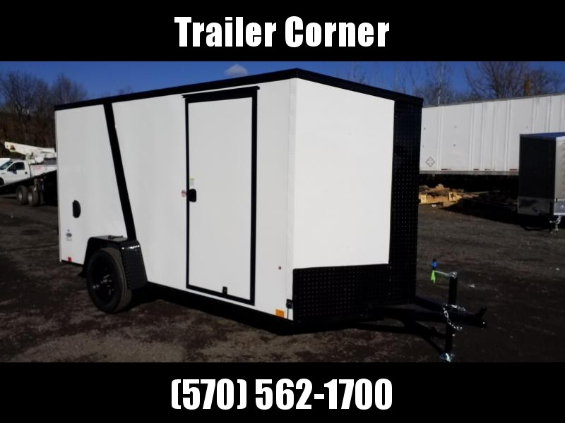 2022 Look Trailers STLC 6X12 - BLACKED OUT - RAMP Enclosed Cargo Trailer