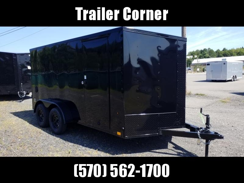 2021 Look Trailers STLC 7X14 BLACKED OUT - RAMP Enclosed Cargo Trailer
