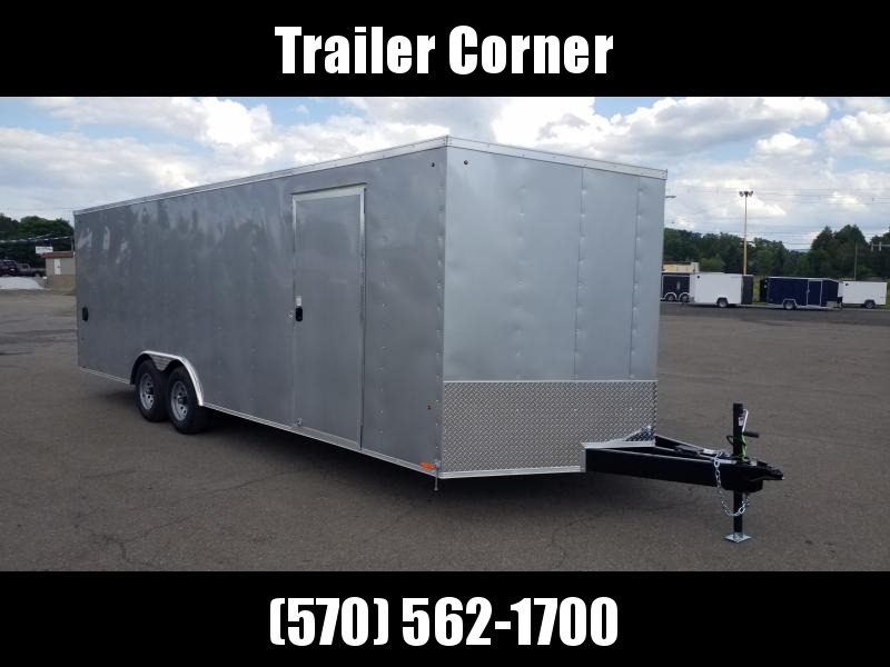 2020 Look Trailers ST 8.5X2410K DLX ESCAPE DOOR Car / Racing Trailer