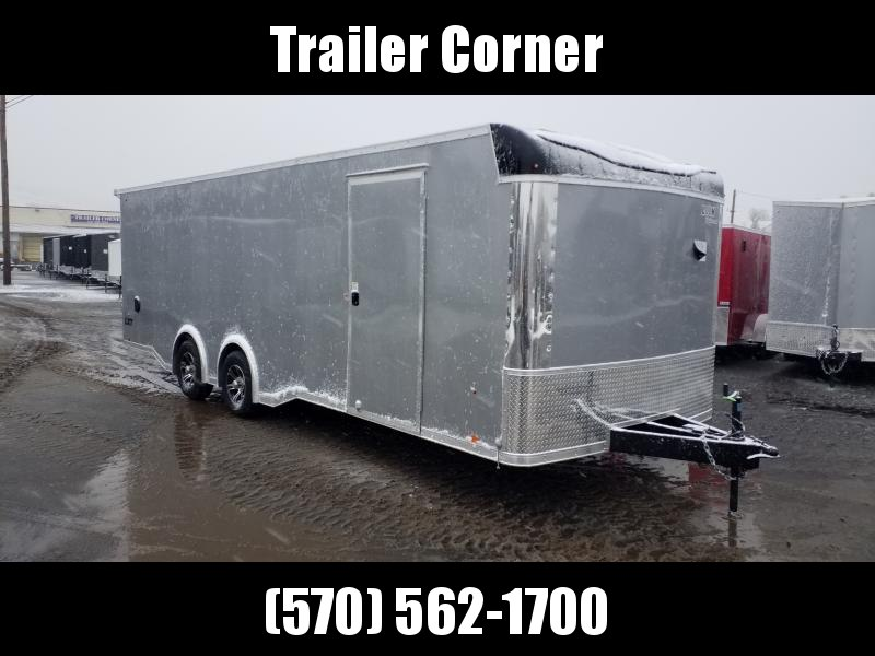 2020 Look Trailers LXT 8.5X24 10K ESCAPE DOOR - LIGHT PKG Car / Racing Trailer